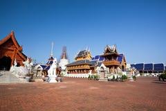 όμορφος βόρειος ναός Ταϊλά στοκ εικόνες με δικαίωμα ελεύθερης χρήσης