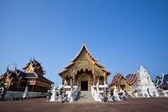 όμορφος βόρειος ναός Ταϊλά στοκ φωτογραφίες