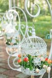 όμορφος γάμος ανθοδεσμών Στοκ Φωτογραφία
