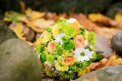όμορφος γάμος ανθοδεσμών Στοκ Εικόνα