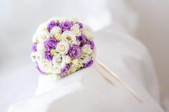 όμορφος γάμος ανθοδεσμών Στοκ Φωτογραφίες