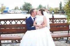 όμορφος γάμος ημέρας Στοκ Εικόνα
