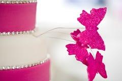 όμορφος γάμος κέικ Στοκ Εικόνες
