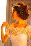 Όμορφος γάμος νυφών Στοκ Εικόνες