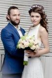 Όμορφος γάμος νυφών Στοκ Εικόνα