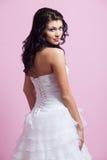 όμορφος γάμος φορεμάτων ν&ups Στοκ φωτογραφία με δικαίωμα ελεύθερης χρήσης