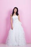 όμορφος γάμος φορεμάτων ν&ups Στοκ φωτογραφίες με δικαίωμα ελεύθερης χρήσης