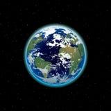 όμορφος γήινος πλανήτης Στοκ Φωτογραφία