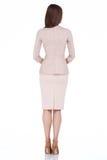 Όμορφος γραμματέας διπλωματικό π φορεμάτων ύφους μόδας γυναικών πρότυπος Στοκ Φωτογραφίες