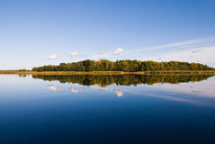 όμορφος δασικός κόλπος &alpha Στοκ εικόνα με δικαίωμα ελεύθερης χρήσης