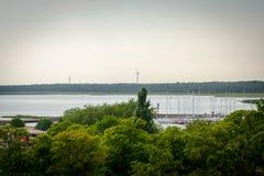 Όμορφος δείτε το τοπίο σε Saaremaa, Εσθονία στοκ εικόνα με δικαίωμα ελεύθερης χρήσης