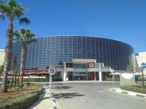 Όμορφος η λεωφόρος μου που χτίζει τη Λεμεσό στη Κύπρο στοκ εικόνα με δικαίωμα ελεύθερης χρήσης