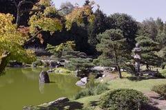 Όμορφος ιαπωνικός κήπος φθινοπώρου στο Σιάτλ Στοκ εικόνες με δικαίωμα ελεύθερης χρήσης