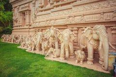 Όμορφος ινδός ναός στη Μαλαισία Στοκ Εικόνες