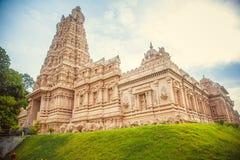 Όμορφος ινδός ναός στη Μαλαισία Στοκ φωτογραφία με δικαίωμα ελεύθερης χρήσης