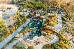 Όμορφος κήπος πάρκων στοκ φωτογραφία με δικαίωμα ελεύθερης χρήσης