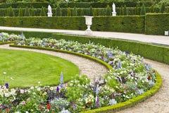 Όμορφος κήπος σε ένα διάσημο παλάτι Βερσαλλίες Στοκ Εικόνα