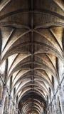 Όμορφος καθεδρικός ναός η εσωτερική Notre Dame Στοκ Εικόνα