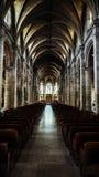 Όμορφος καθεδρικός ναός η εσωτερική Notre Dame Στοκ φωτογραφία με δικαίωμα ελεύθερης χρήσης