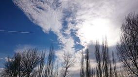 Όμορφος και εντυπωσιακός ουρανός Στοκ Εικόνες