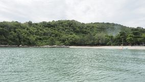 Όμορφος και κενός ωκεανός στην Ταϊλάνδη στοκ φωτογραφία με δικαίωμα ελεύθερης χρήσης