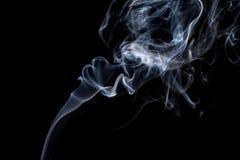 Όμορφος καπνός στο μαύρο υπόβαθρο - ταπετσαρία στοκ εικόνες