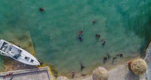 όμορφος καραϊβικός ωκεανός στοκ εικόνες με δικαίωμα ελεύθερης χρήσης