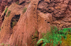 Όμορφος καταρράκτης σε Ouzoud, Azilal, Μαρόκο Μεγάλος άτλαντας Στοκ Εικόνες