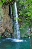 Όμορφος καταρράκτης σε Plitvice, Κροατία Στοκ φωτογραφία με δικαίωμα ελεύθερης χρήσης