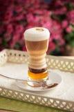 Όμορφος καφές latte στοκ εικόνες με δικαίωμα ελεύθερης χρήσης