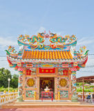όμορφος κινεζικός ναός Στοκ Φωτογραφίες