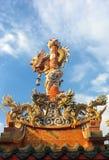 όμορφος κινεζικός δράκο&sig Στοκ Εικόνες