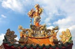όμορφος κινεζικός δράκο&sig Στοκ φωτογραφία με δικαίωμα ελεύθερης χρήσης