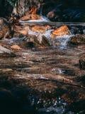 Όμορφος κολπίσκος βουνών - καθαρίστε το νερό στοκ εικόνα με δικαίωμα ελεύθερης χρήσης