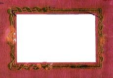 όμορφος κόκκινος διανυσματικός τρύγος απεικόνισης πλαισίων Στοκ Φωτογραφία