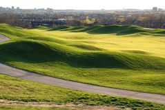 Όμορφος λόφος γκολφ στοκ φωτογραφία με δικαίωμα ελεύθερης χρήσης