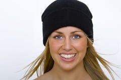 όμορφος μαύρος ξανθός Στοκ φωτογραφίες με δικαίωμα ελεύθερης χρήσης
