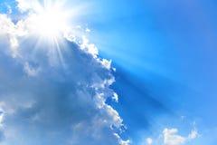 όμορφος μπλε ουρανός Στοκ Εικόνα