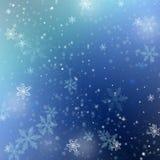 όμορφος μπλε χειμώνας αν&alpha Στοκ φωτογραφία με δικαίωμα ελεύθερης χρήσης