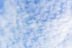 Όμορφος μπλε ουρανός για το υπόβαθρο Στοκ εικόνα με δικαίωμα ελεύθερης χρήσης