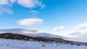 όμορφος μπλε ουρανός τοπ Χειμώνας στην Κριμαία Στοκ φωτογραφίες με δικαίωμα ελεύθερης χρήσης