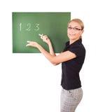 Όμορφος νέος δάσκαλος Στοκ φωτογραφία με δικαίωμα ελεύθερης χρήσης