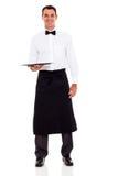 Όμορφος σερβιτόρος Στοκ φωτογραφίες με δικαίωμα ελεύθερης χρήσης