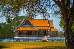 όμορφος ναός Αρχαία παλάτια ayutthaya Ταϊλάνδη Στοκ Εικόνες
