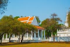 όμορφος ναός Αρχαία παλάτια ayutthaya Ταϊλάνδη Στοκ Εικόνα