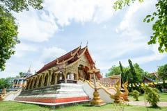 Όμορφος ναός και αρχαία παγόδα σε Wat Phra Yuen Στοκ εικόνες με δικαίωμα ελεύθερης χρήσης