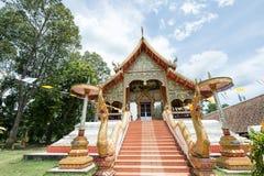 Όμορφος ναός και αρχαία παγόδα σε Wat Phra Yuen Στοκ Εικόνα