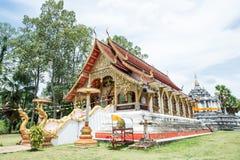 Όμορφος ναός και αρχαία παγόδα σε Wat Phra Yuen Στοκ φωτογραφία με δικαίωμα ελεύθερης χρήσης