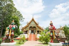 Όμορφος ναός και αρχαία παγόδα σε Wat Phra Yuen Στοκ εικόνα με δικαίωμα ελεύθερης χρήσης