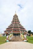όμορφος ναός μπλε ουραν&omicro στοκ φωτογραφία με δικαίωμα ελεύθερης χρήσης